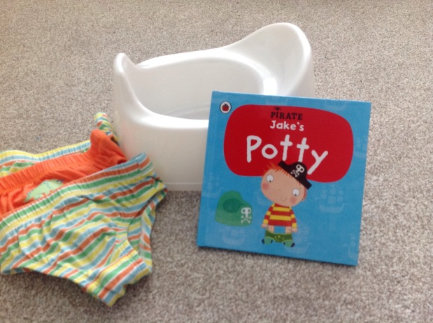 The potty training saga: Part 1